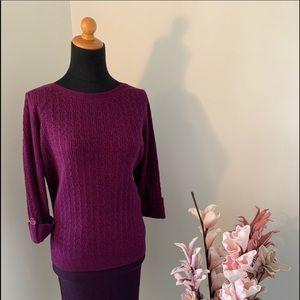 Karen Scott Petite sweater size Large